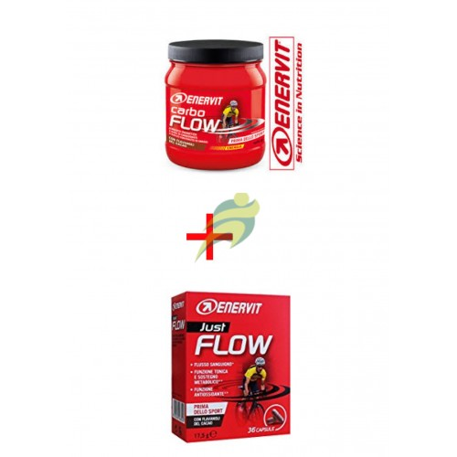 Enervit Carbo Flow + Just Flow 36 cps
